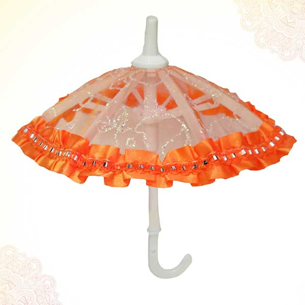 Thakur Ji / Ladoo Gopal / Laddu gopal / Thakurji / krishna/ bal gopal Decorated Umbrella PSO
