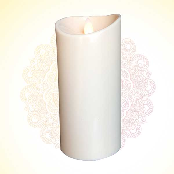 Battery Operated flameless flickering candles/ Electric Candle/Decorative led Candle PSO