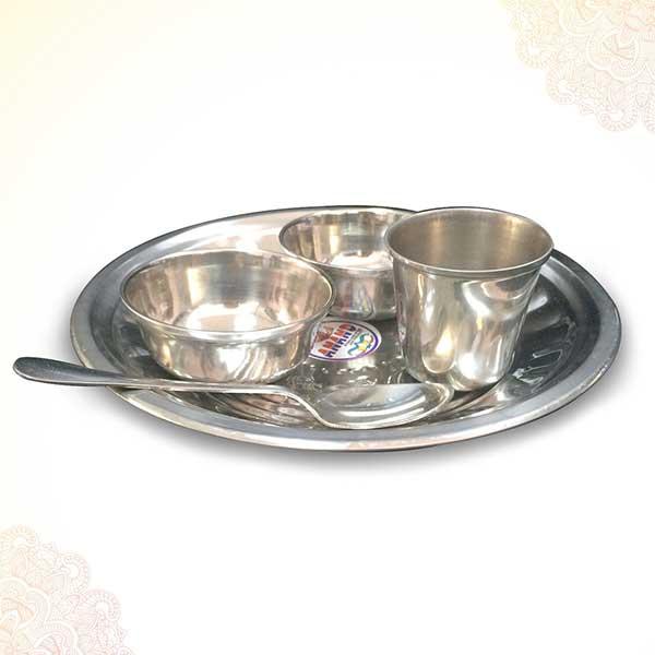 Bhog Puja Thali Set / Annaprashan Set (5 Pieces) PSO