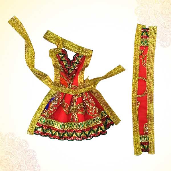Radha Rani / Mata Rani / Lakshmi Ji Dress PSO
